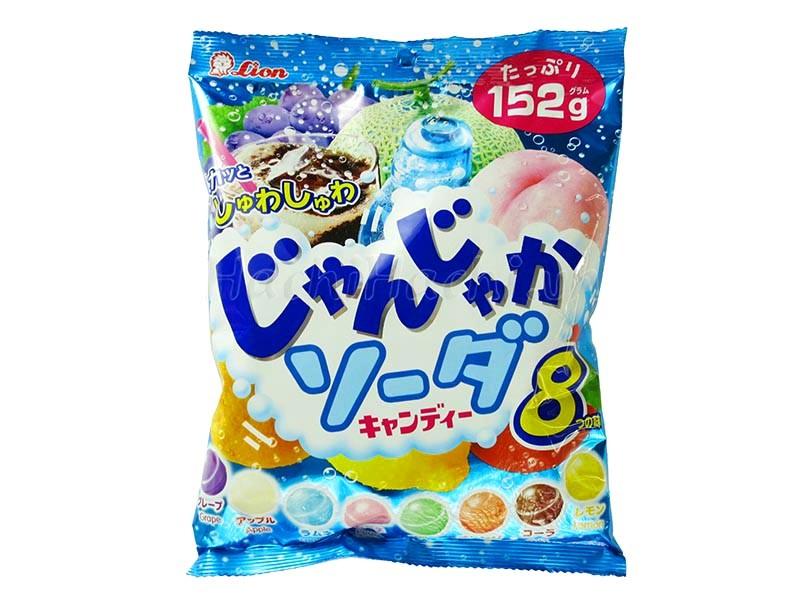 Kẹo Lion Junka Soda 152g - Hàng Nhật nội địa
