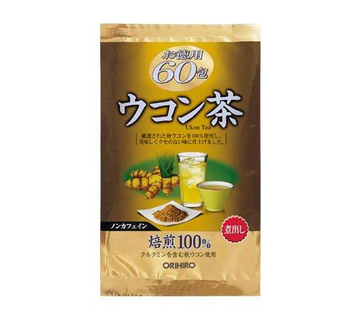 Trà nghệ ukon giải độc gan orihiro 60 gói - Hàng Nhật nội địa