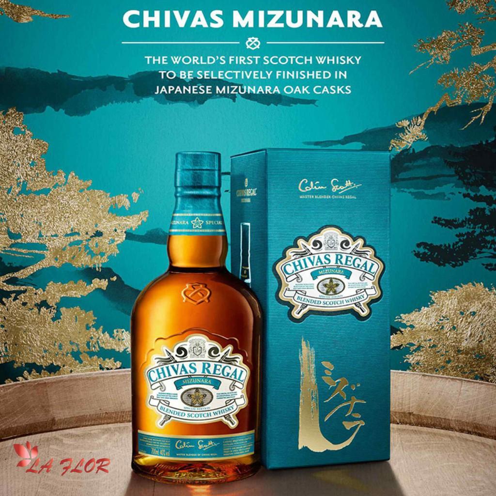 Rượu Chivas Regal Mizunara 12 years Nhật Bản