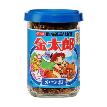 Gia vị rắc cơm cá ngừ và rong biển Yamaiso 48gr- Hủ - Hàng Nhật nội địa