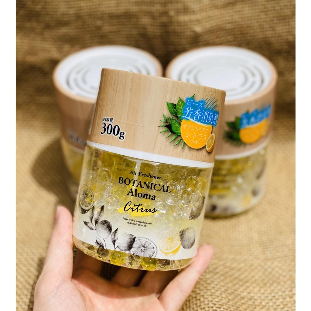 Hộp khử mùi, thơm phòng hương chanh 300g - Hàng Nhật nội địa
