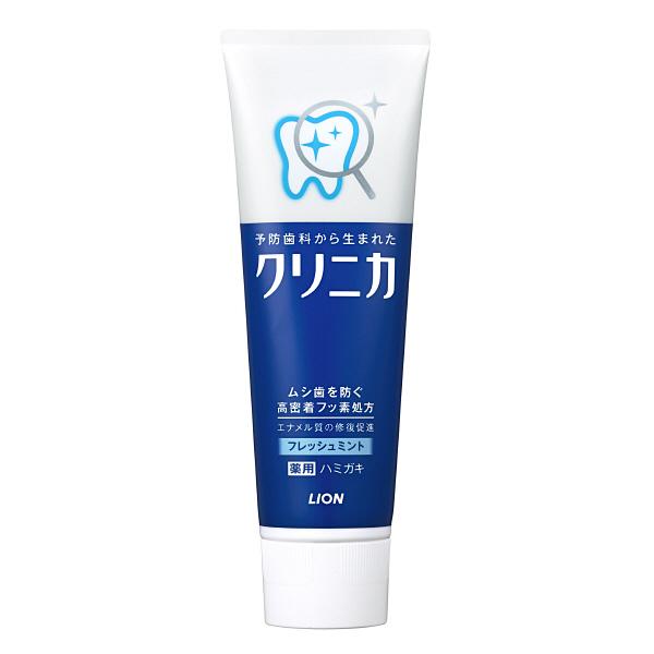 Kem đánh răng bạc hà thơm miệng 130g Lion - Hàng Nhật nội địa