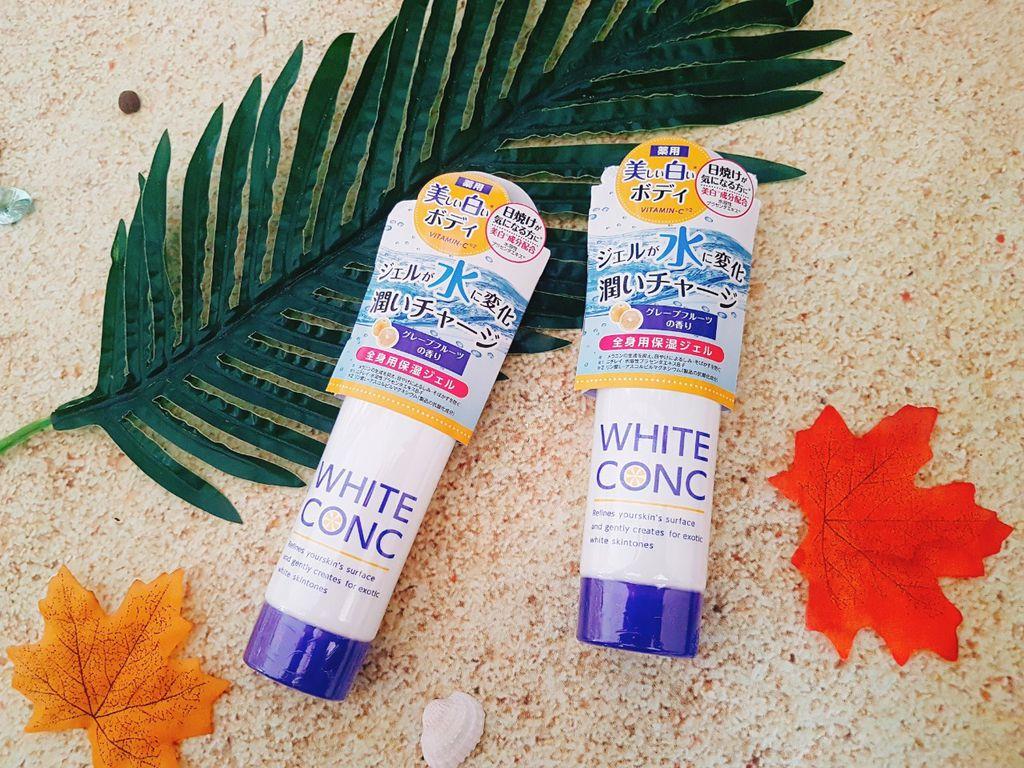 Kem Dưỡng Ẩm, Làm Trắng White Conc Watery Cream 90g- Hàng Nhật nội địa