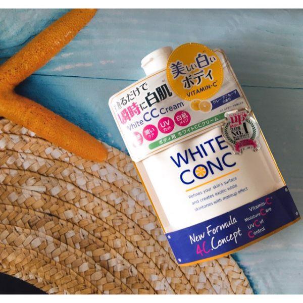 Kem Dưỡng Trắng Toàn Thân White Conc Body CC Cream - Hàng Nhật nội địa