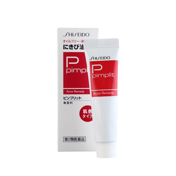 Kem trị mụn Shiseido Pimplit 18g -HÀNG NỘI ĐỊA NHẬT BẢN