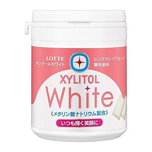 Kẹo cao su LOTTE XYLITOL White 143g Nhật Bản (hồng) - Hàng Nhật nội địa