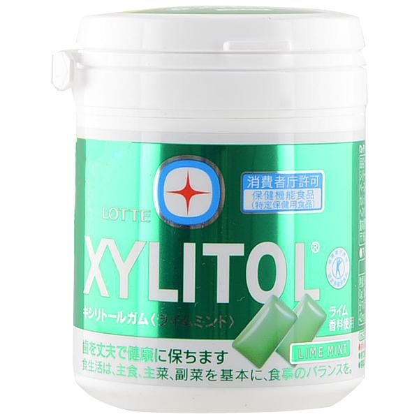 Kẹo cao su Xylitol Lime Mint - Hàng Nhật nội địa