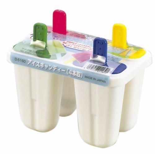 Khuôn làm kem 4 chiếc (mã mới) - Hàng Nhật nội địa
