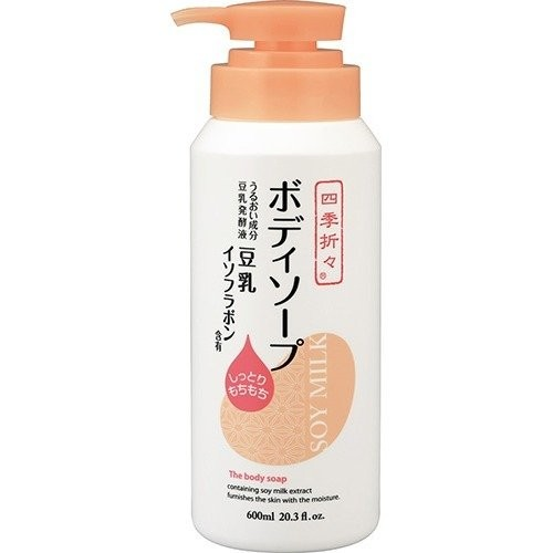 Sữa tắm chiết xuất từ đậu nành Soy Milk 600ml - Hàng Nhật nội địa