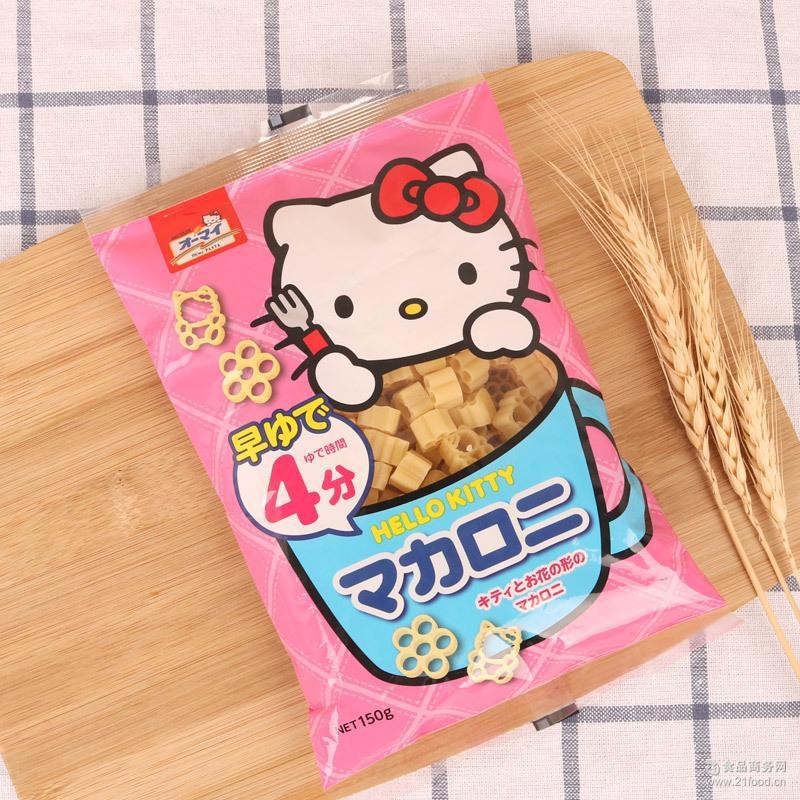 Mì nui dinh dưỡng Hello Kitty Nhật Bản 150g- Hàng Nhật nội địa