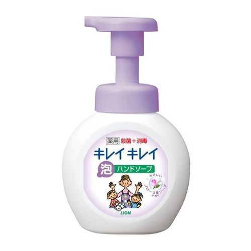 Nước rửa tay Lion hoa hồng 250ml diệt khuẩn hương hoa hồng - Hàng Nhật nội địa