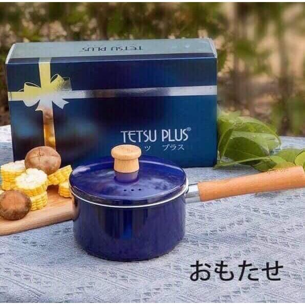 Quánh sứ cao cấp Tetsu Plus Nhật Bản dùng được cả bếp từ - Hàng Nhật nội địa