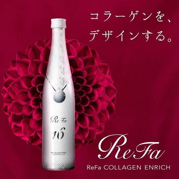 Refa 16 Collagen Enriched 480ml dạng nước uống cao cấp của Nhật - Hàng Nhật nội địa