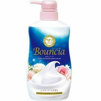 Sữa tắm Bouncia hương hoa hồng 550ml - Hàng Nhật nội địa