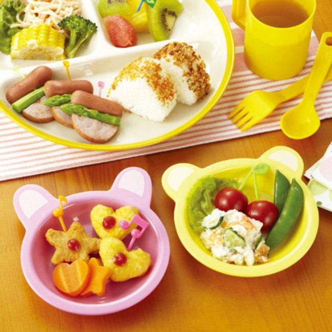 Set 2 bát ăn cho bé hình gấu trúc - Hàng Nhật nội địa