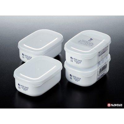 Set 2 hộp nhựa đựng thực phẩm White pack 280ml - Hàng Nhật nội địa