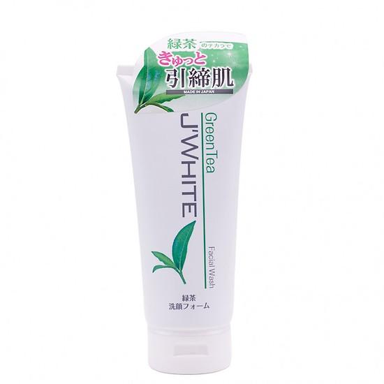 Sữa rửa mặt J'White tinh chất trà xanh - Hàng Nhật nội địa