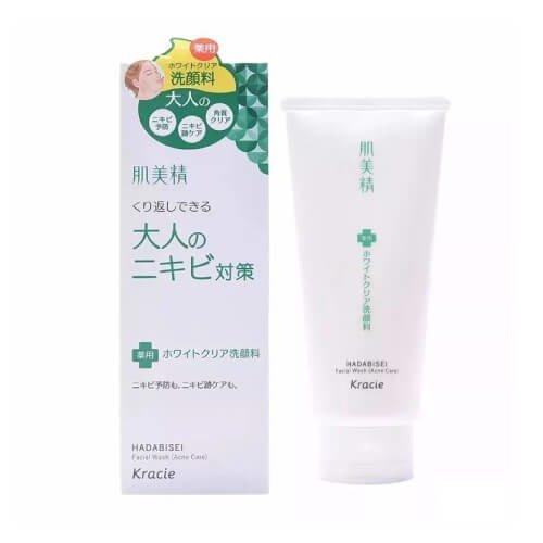 Sữa rửa mặt trị mụn Kracie Hadabisei - Hàng Nhật nội địa