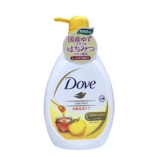 Sữa tắm Dove 500g hương mật ong và chanh mẫu mới 2020- Hàng Nhật nội địa