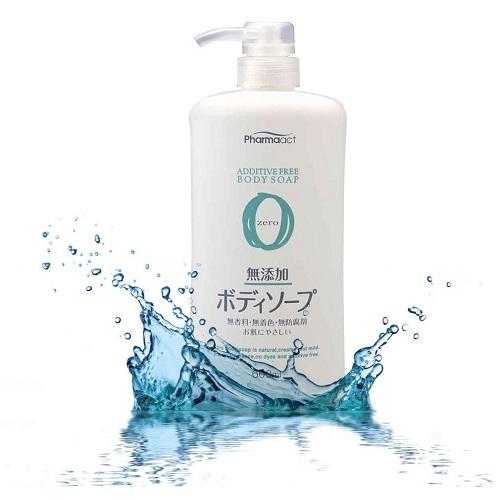 Sữa tắm Pharmaact 100% thảo mộc tự nhiên dành cho da nhạy cảm- Hàng Nhật nội địa