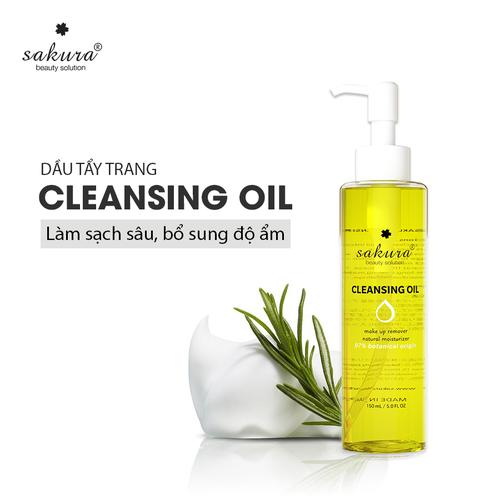DẦU TẨY TRANG CHÍNH HÃNG SAKURA CLEANSING OIL 150ML