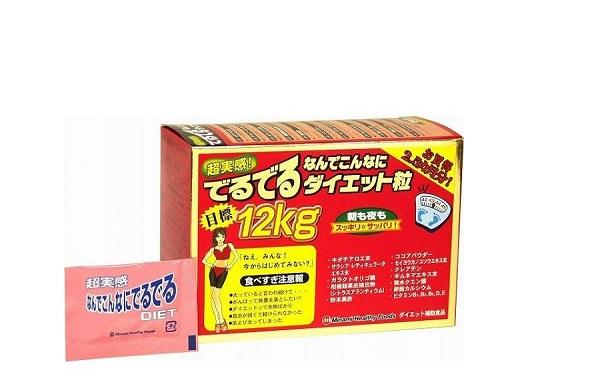 COMBO Viên uống giảm cân MINAMI HEALTHY FOODS + Kem tan mỡ Esteny Body Hot Massage Gel - Hàng Nhật nội địa