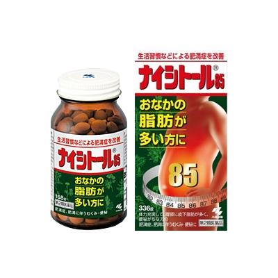 Viên uống giảm cân & mỡ bụng Naishitoru 85 Kobayashi 336 - Hàng Nhật nội địa