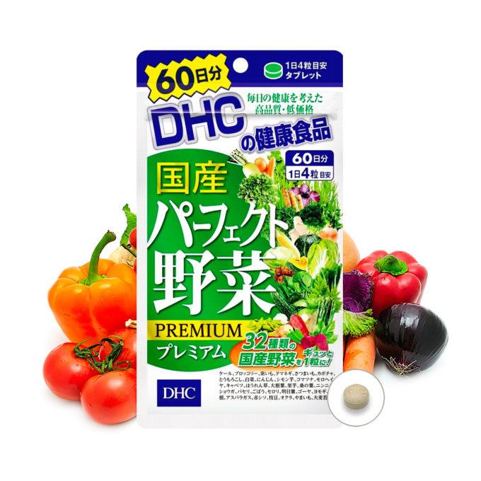 Viên Uống DHC Bổ Sung 32 Loại Củ Quả Cao Cấp - PREMIUM - Hàng Nhật nội địa