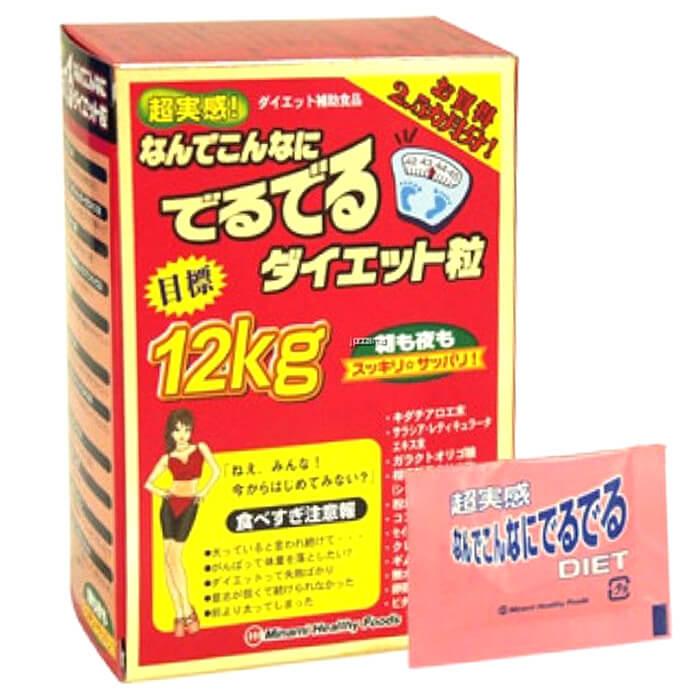Viên uống giảm cân 12kg Minami Healthy Foods - Hàng Nhật nội địa