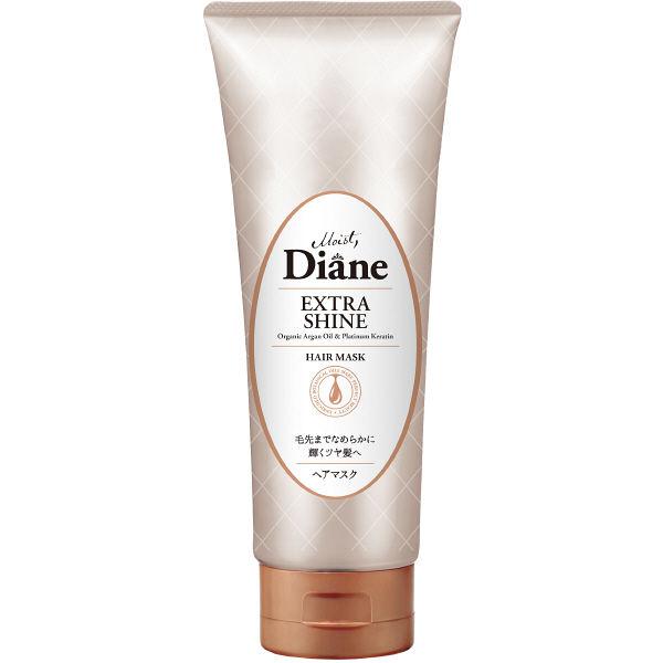 Mặt Nạ Tóc Moist Diane Perfect Beauty Extra Moist & Shine Hair Mask 150g phục hồi tóc sáng bóng - Hàng Nhật nội địa