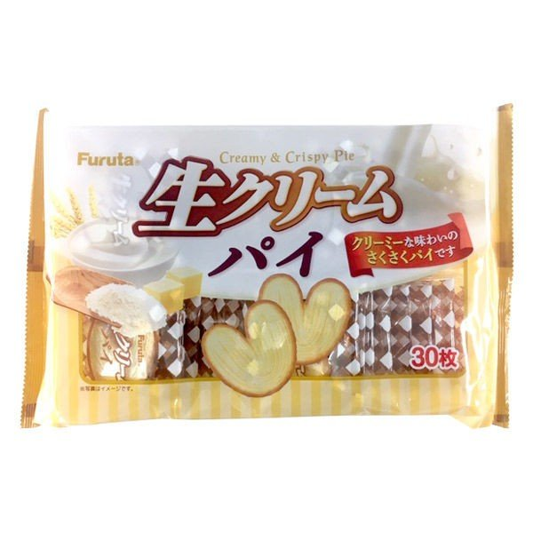 Bánh FURUTA Creamy & Crispy Pie gói 30 bánh - Hàng Nhật nội địa