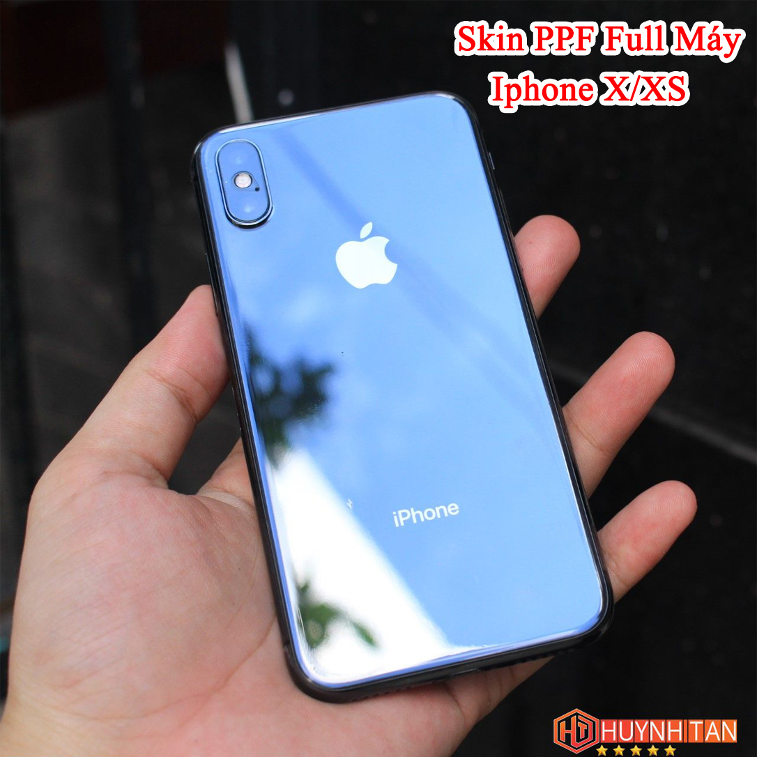 Miếng Dán Trong PPF iPhone X/XS