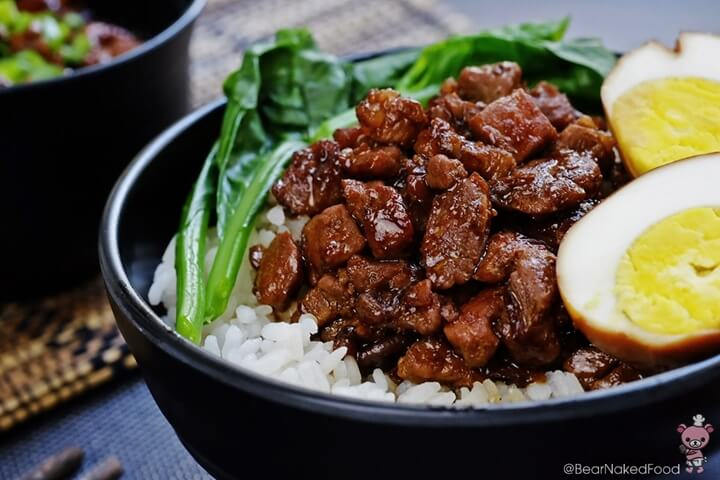 Braised Pork On Rice