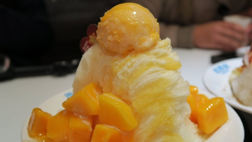 Mango Shaved Ice