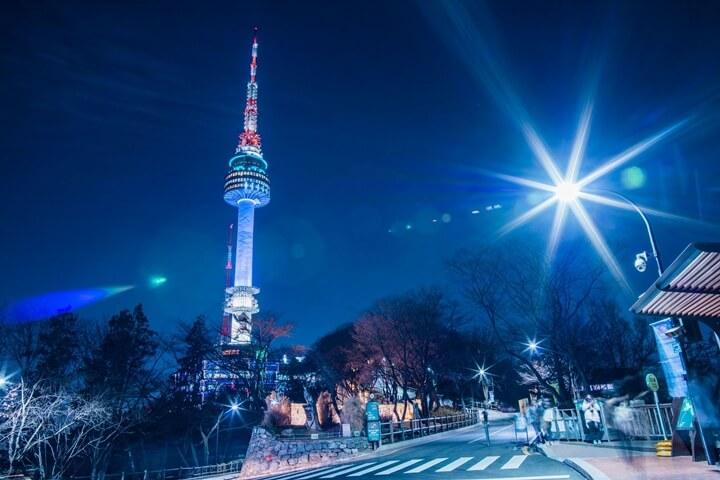 Kết quả hình ảnh cho Tháp truyền hình Namsan