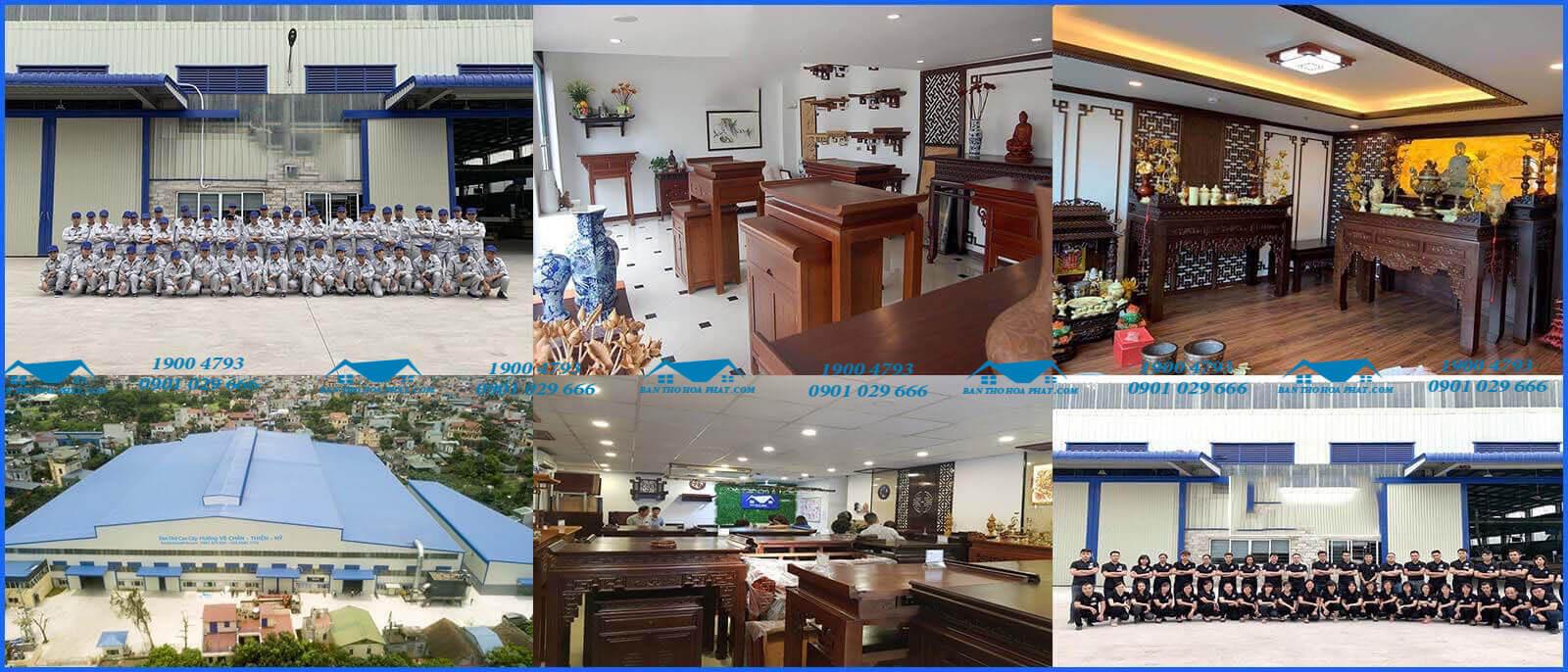 Chất lượng sản phẩm và dịch vụ của bàn thờ Hòa Phát được nhiều người tin tưởng