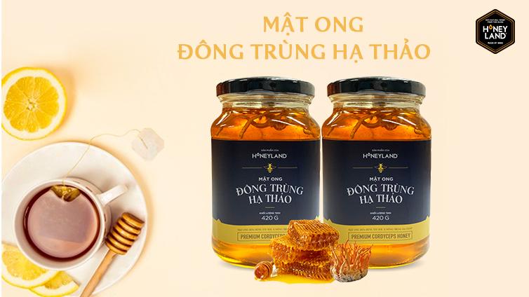 Mật ong Đông Trùng Hạ Thảo 420g