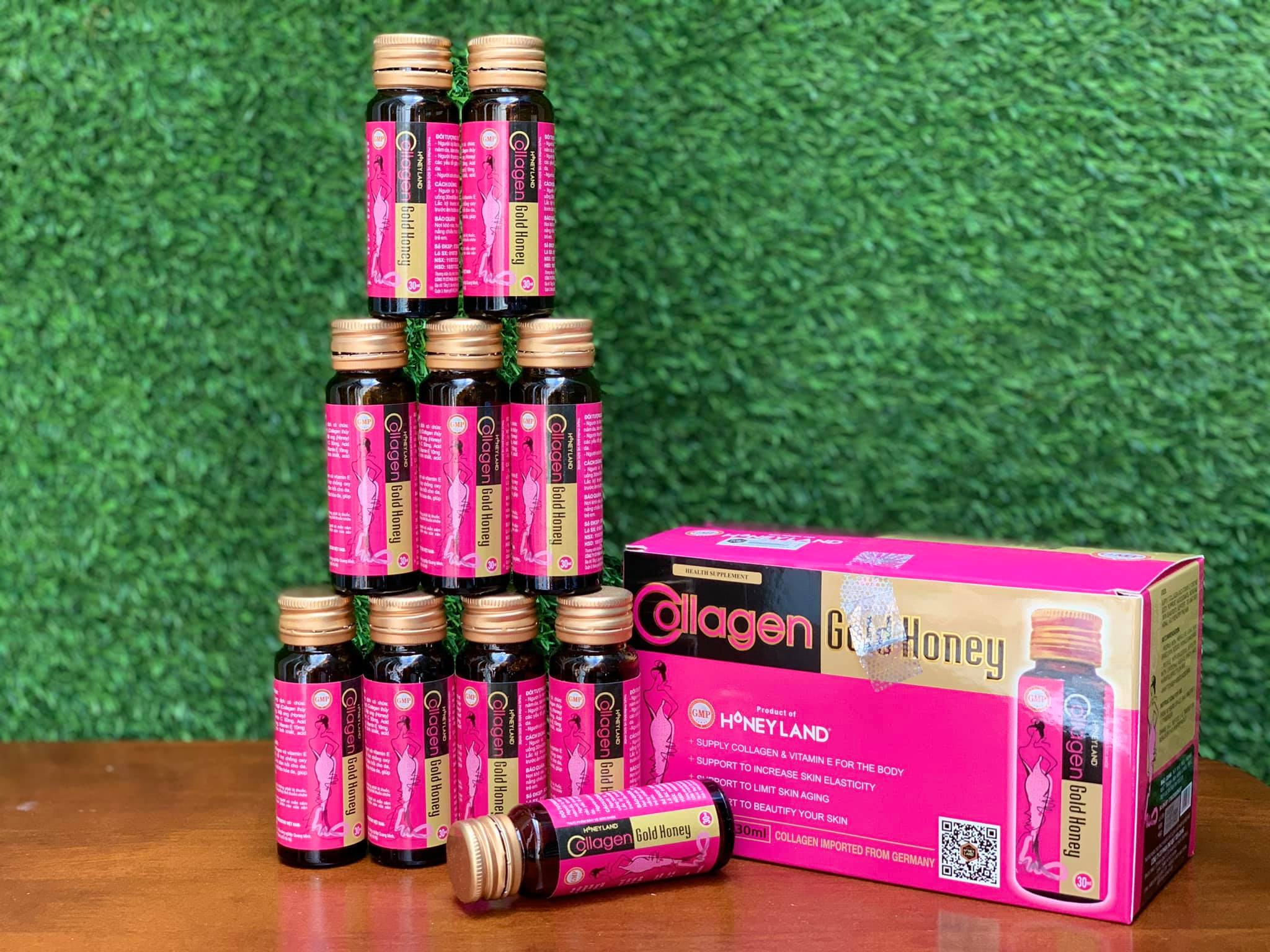 COLLAGEN GOLD HONEY 30ml/chai, hộp 10 chai