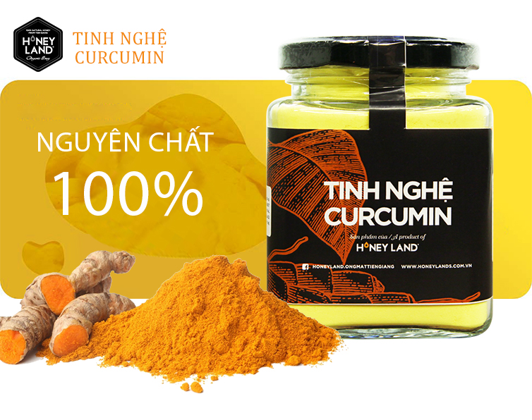 TINH NGHỆ CURCUMIN  200gr