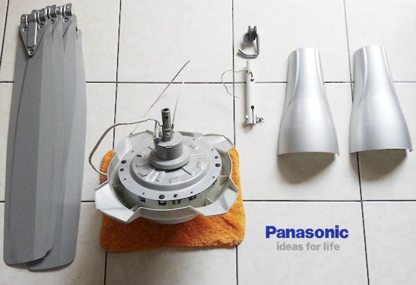 Hướng dẫn cách lắp quạt trần Panasonic đúng kỹ thuật tại nhà
