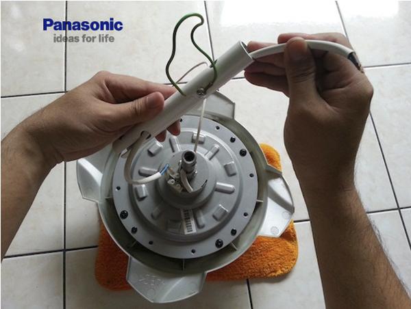 Cách lắp đặt quạt trần Panasonic an toàn
