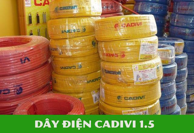 giá đặc điểm Dây điện Cadivi 1.5 được dùng trong trường hợp nào