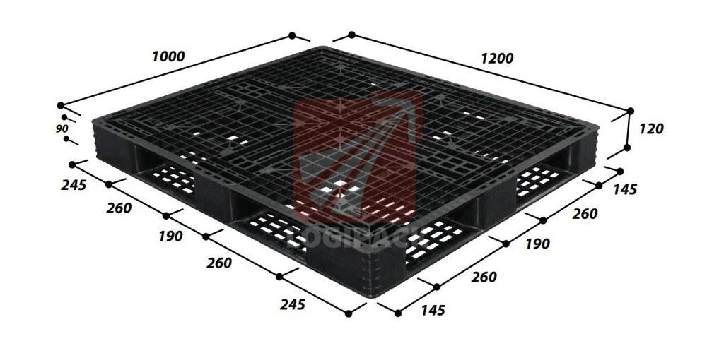 pallet-nhua-xuat-khau-9ln4-1210sl-1200x1000x130-mm