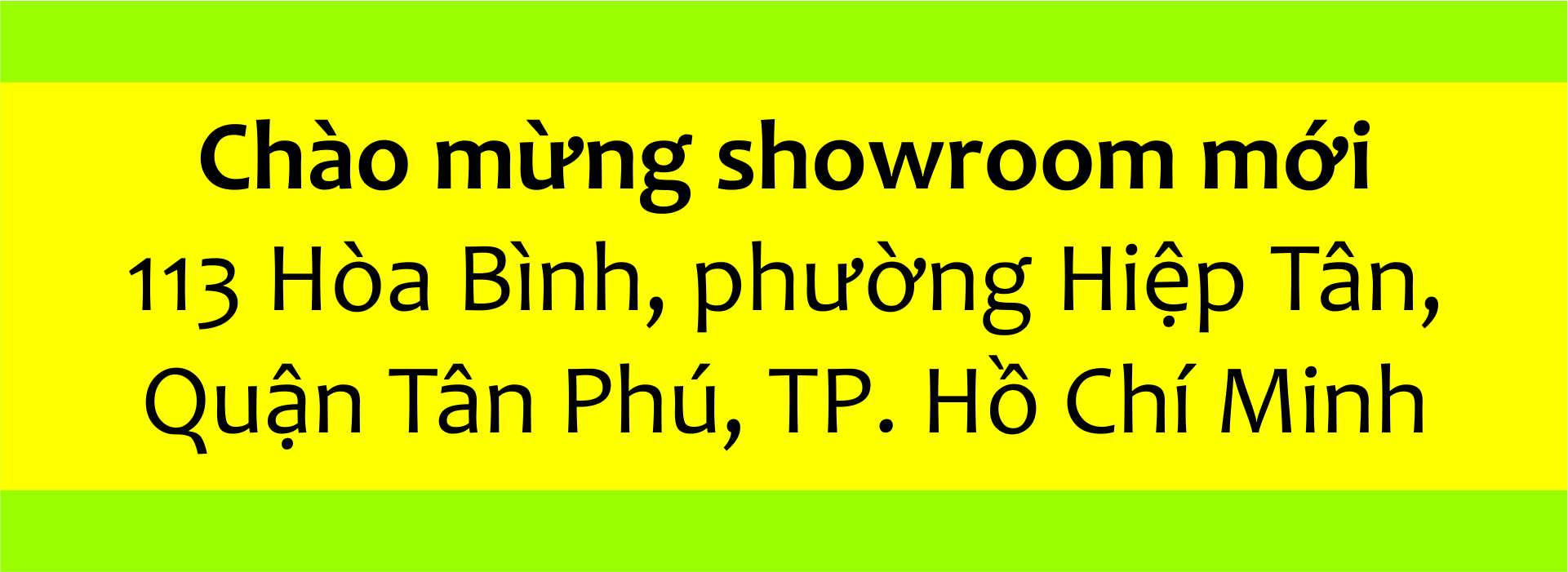 Showroom mới