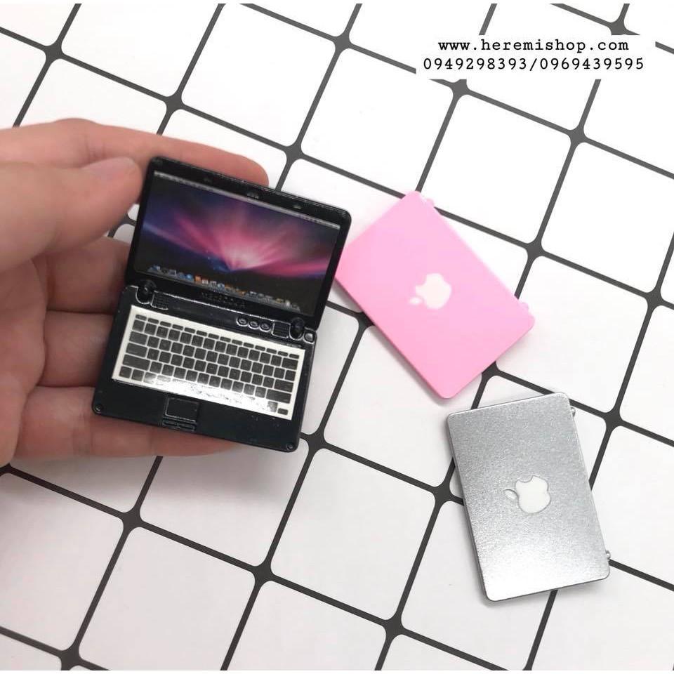 Laptop mô hình tỷ lệ 1:12 bằng kim loại