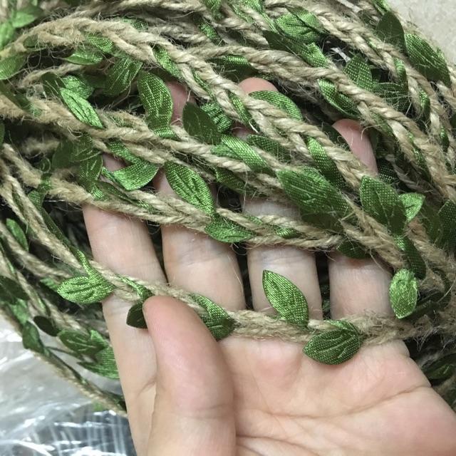Dây thừng đan lá trang trí (1m)