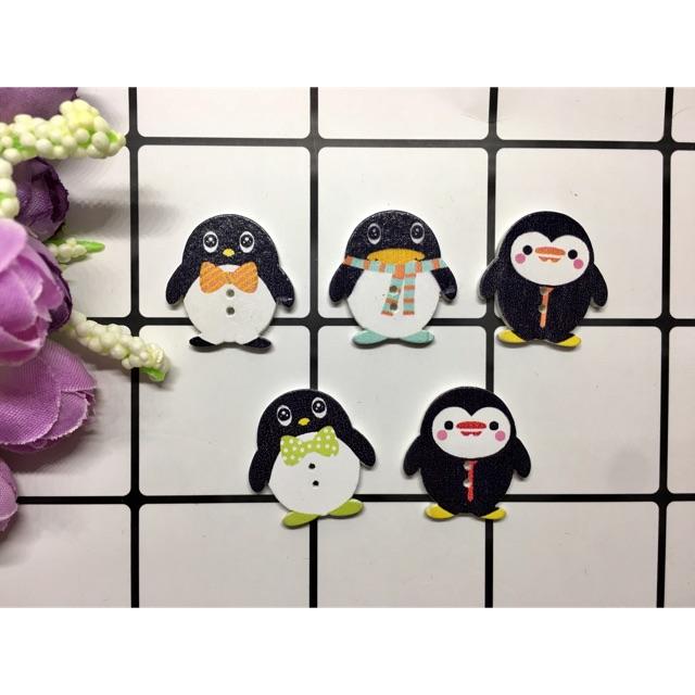 Túi 5 cúc chim cánh cụt