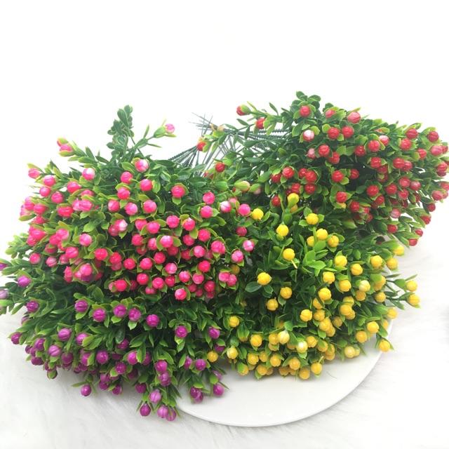 Hoa nhựa trang trí mẫu 2