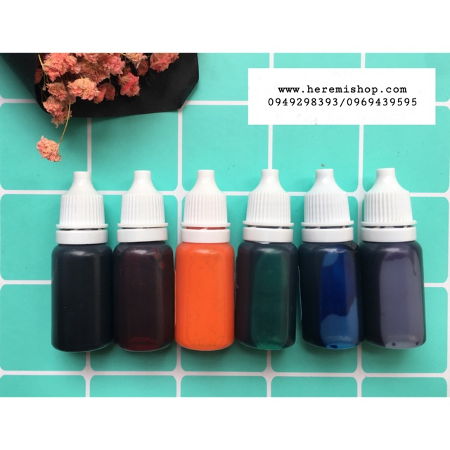 Màu pha epoxy- resin