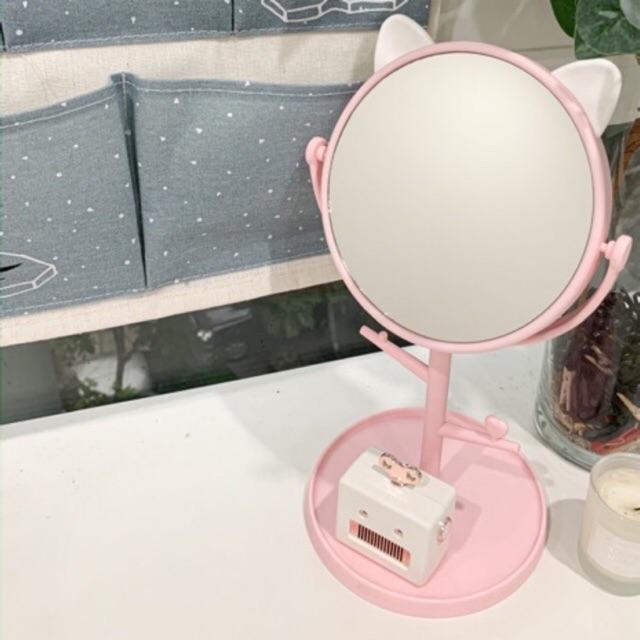 Gương tai mèo hồng